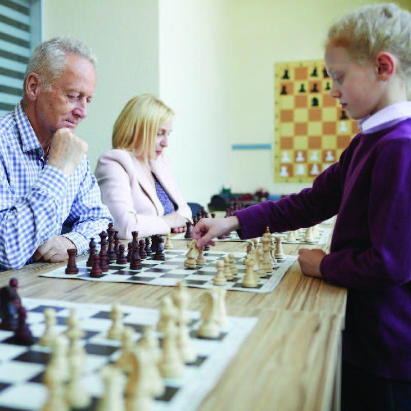Intergenerational Chess